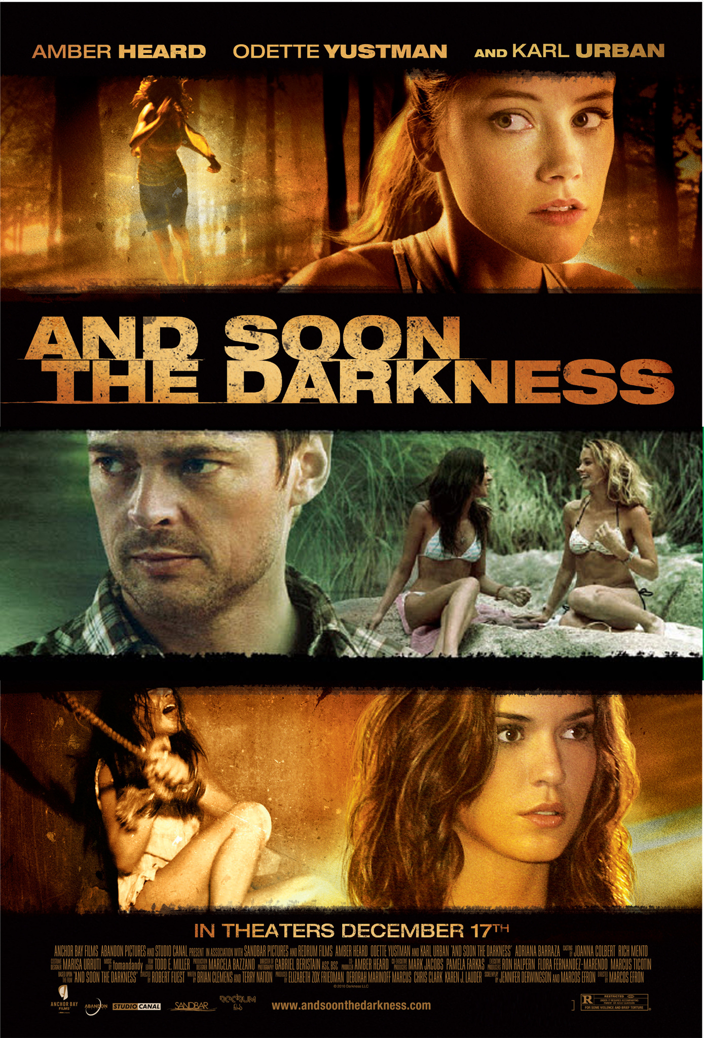 And Soon the Darkness (2010) Technical Specifications