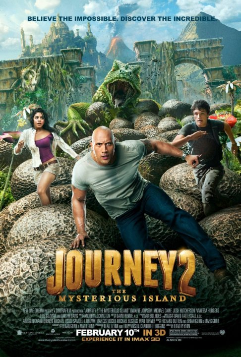Journey 2: The Mysterious Island (2012) Technical Specifications