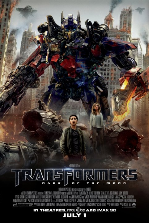 Transformers: Dark of the Moon (2011) Technical Specifications