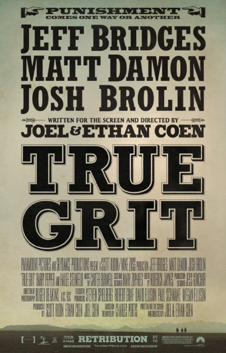 True Grit Technical Specifications