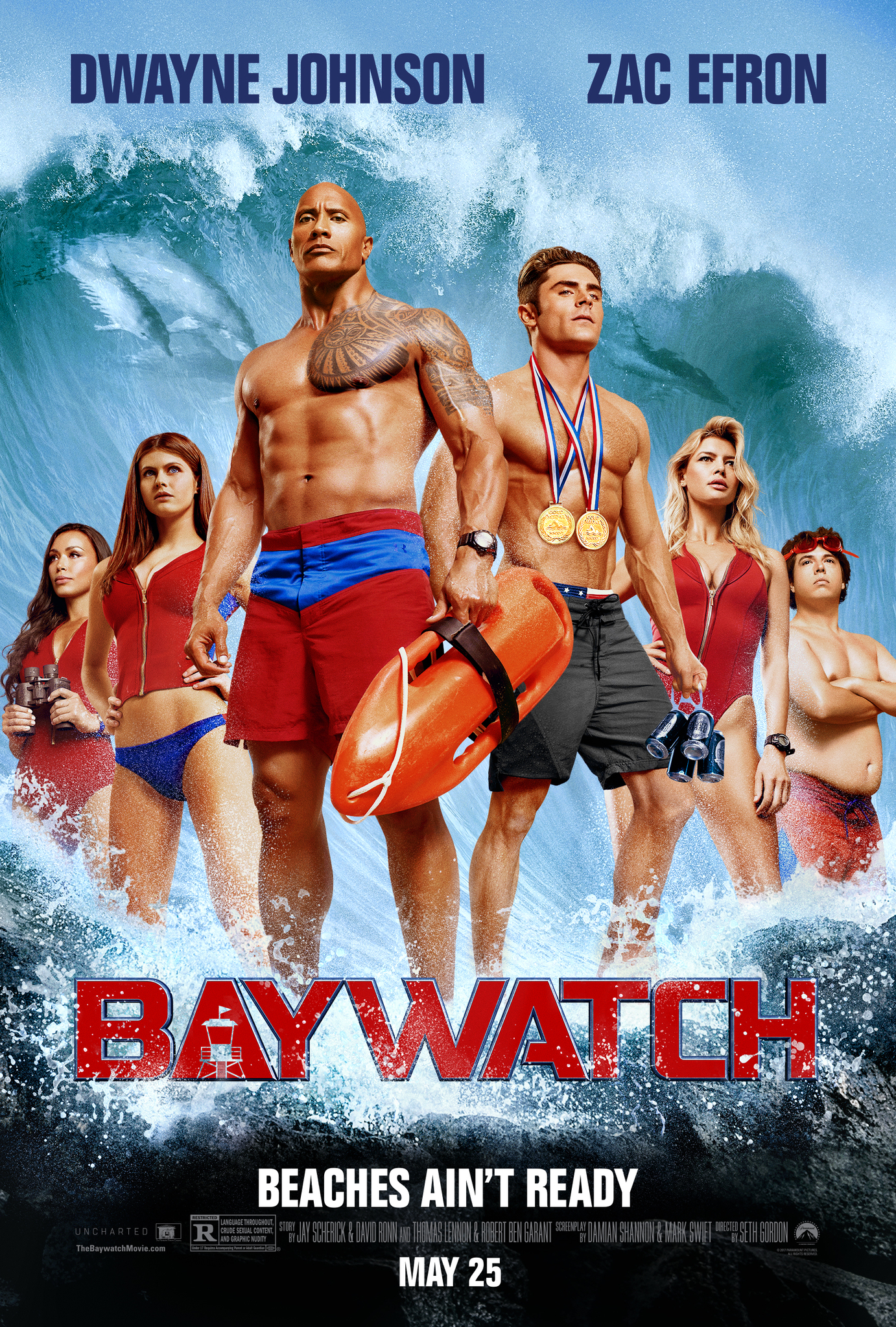Baywatch (2017) Technical Specifications