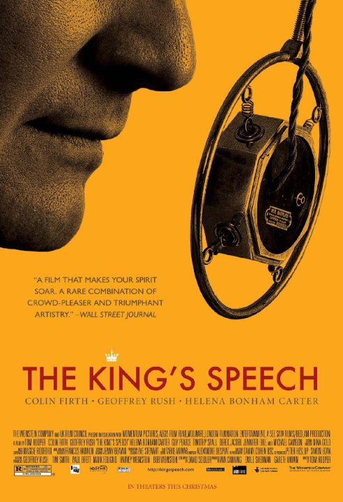 The King's Speech Technical Specifications