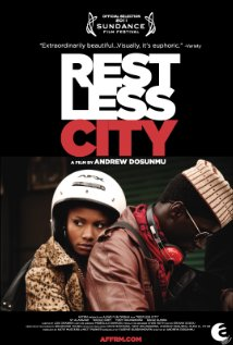 Restless City Technical Specifications