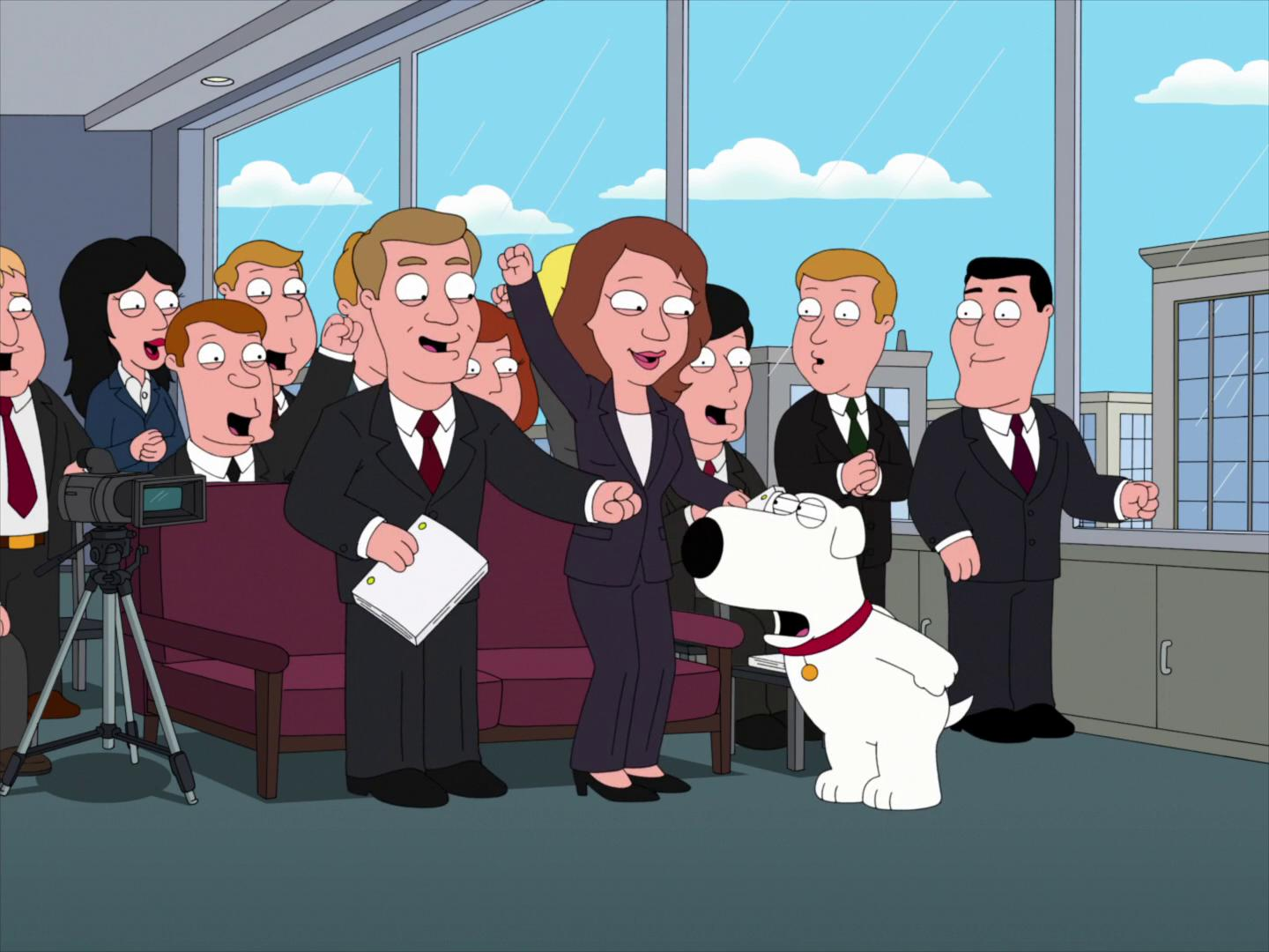 """Family Guy"" Brian Griffin's House of Payne"
