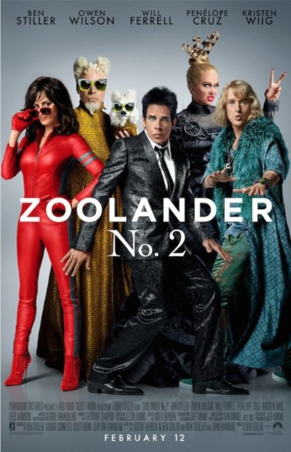 Zoolander 2 Technical Specifications