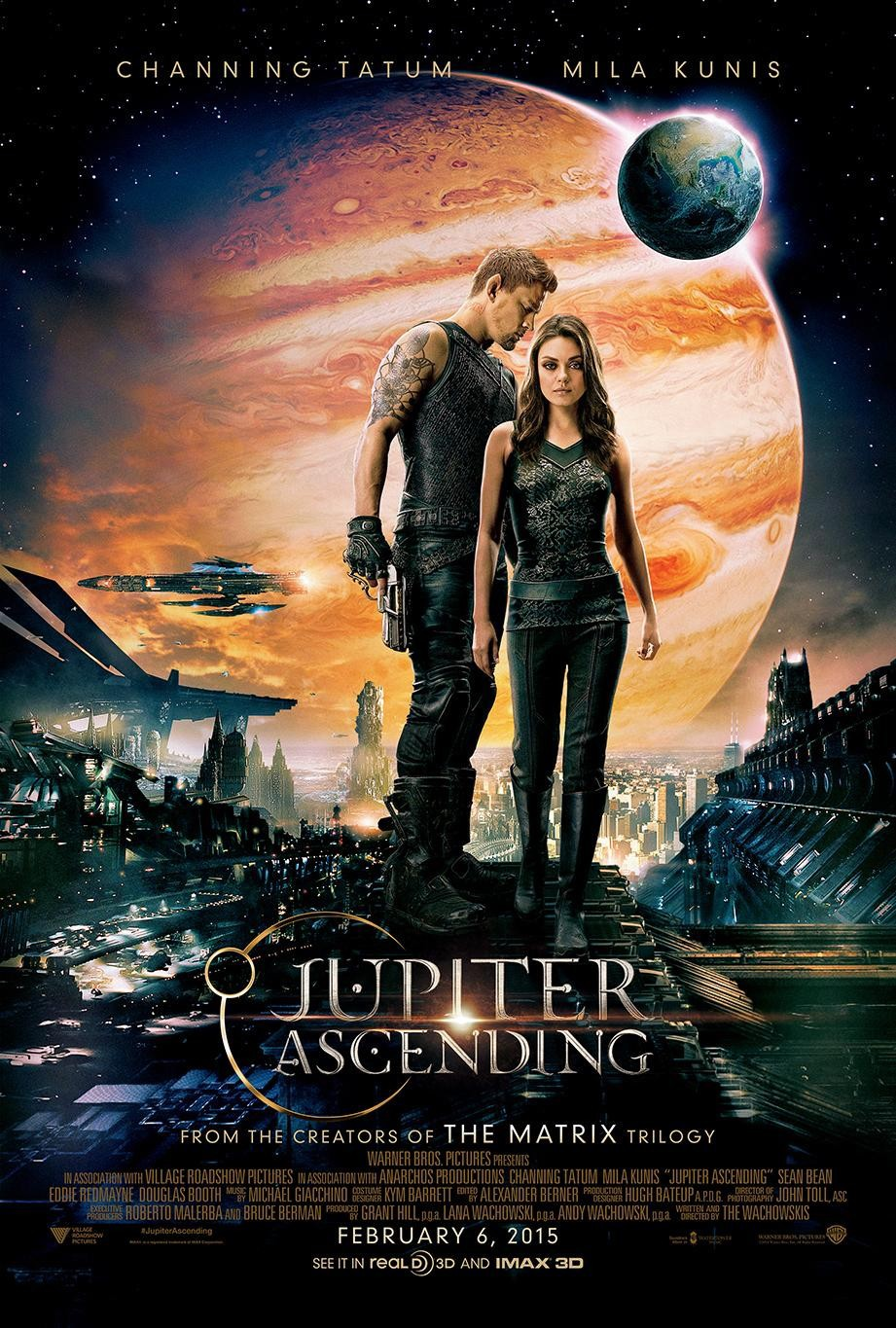 Jupiter Ascending (2015) Technical Specifications