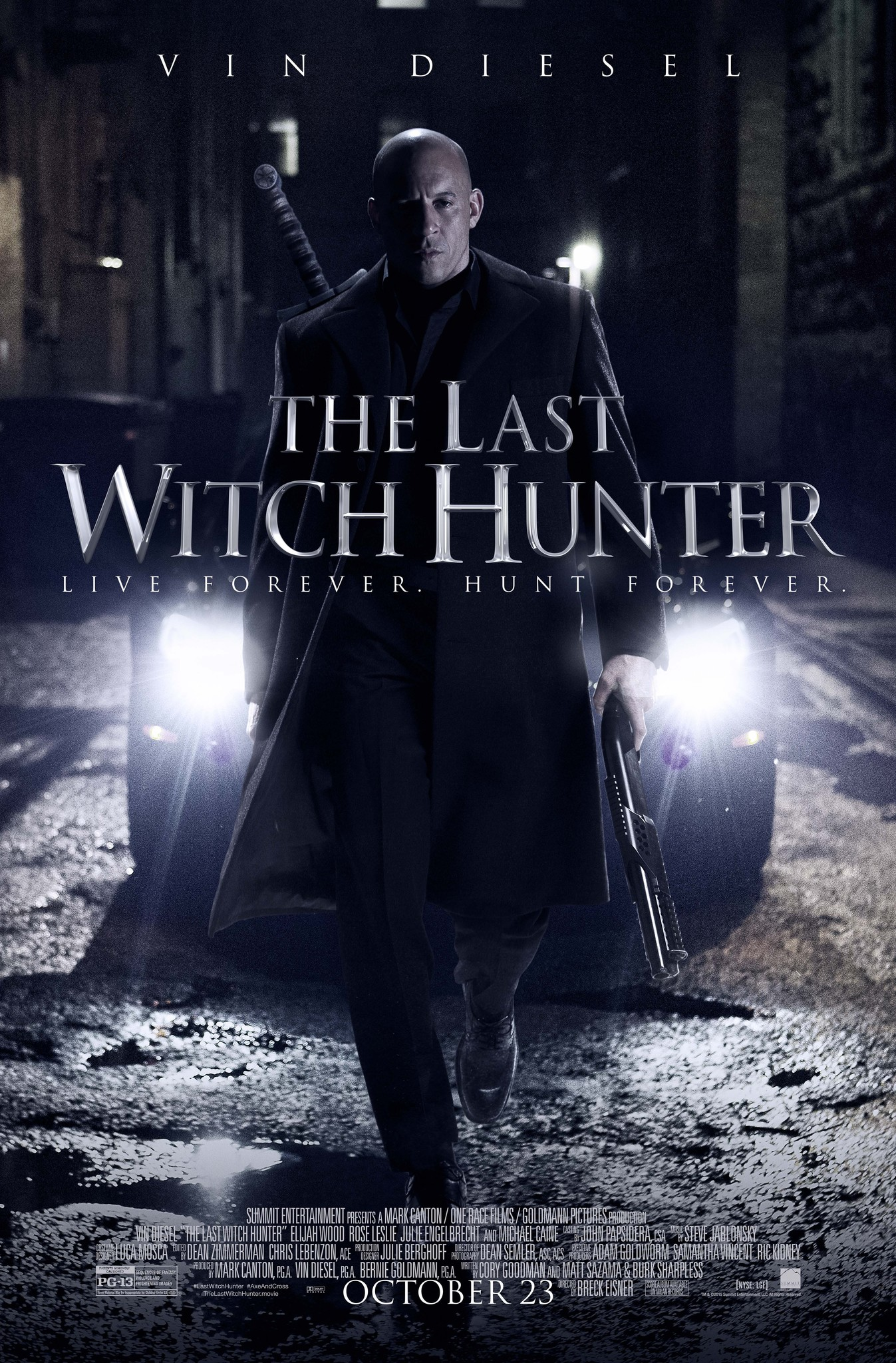 The Last Witch Hunter (2015) Technical Specifications