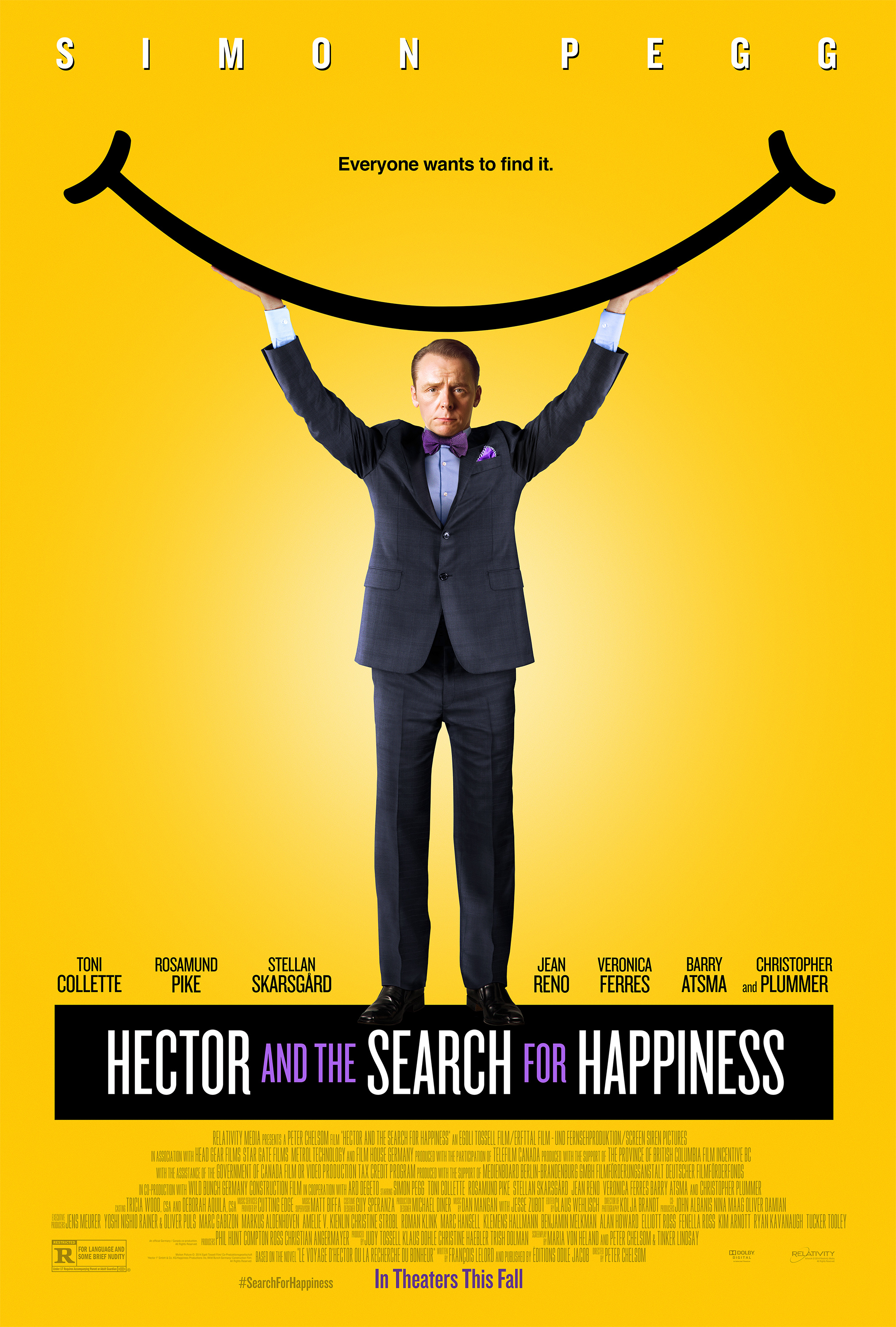 Hector and the Search for Happiness (2014) Technical Specifications