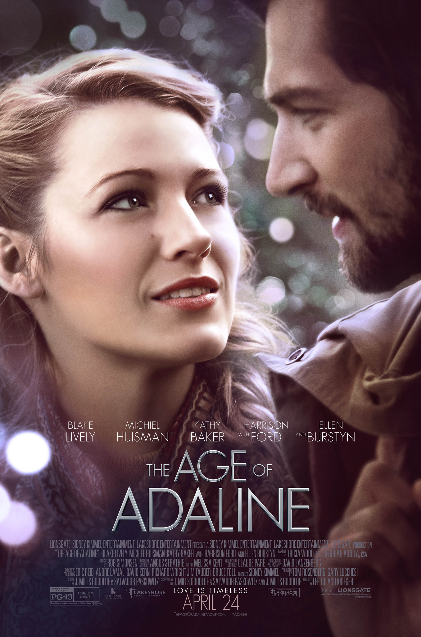 The Age of Adaline (2015) Technical Specifications