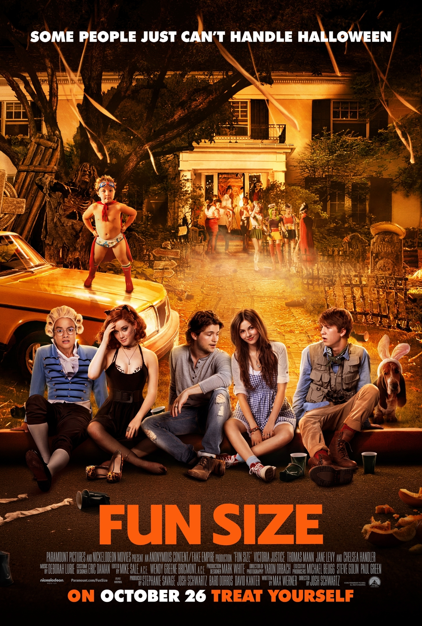 Fun Size (2012) Technical Specifications