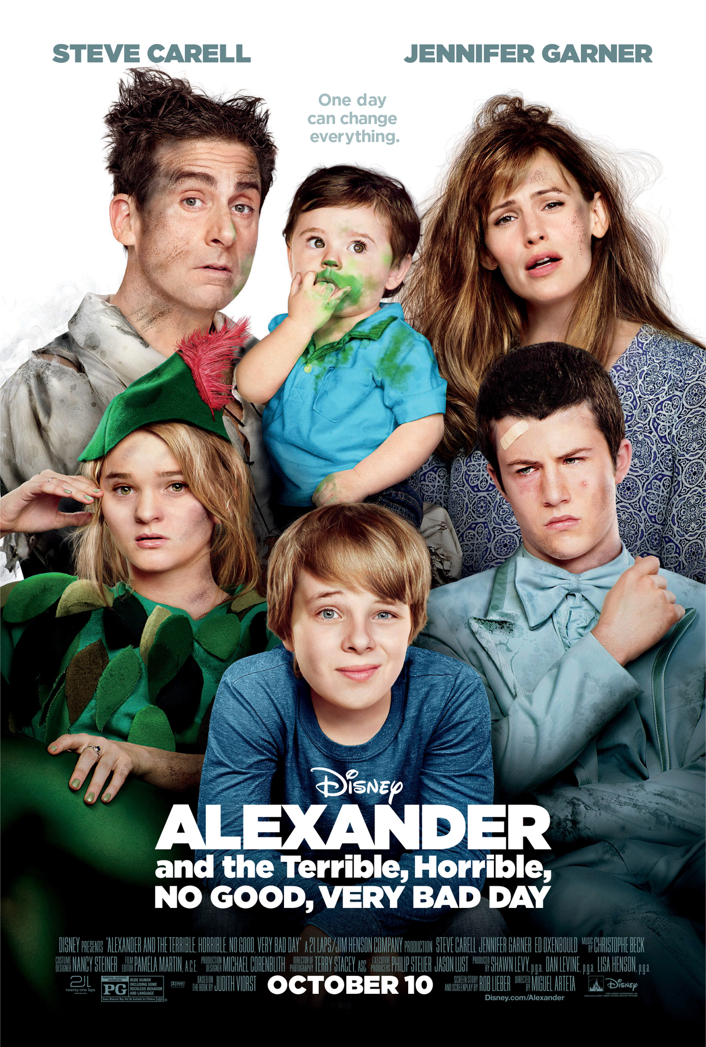 Alexander and the Terrible, Horrible, No Good, Very Bad Day (2014) Technical Specifications