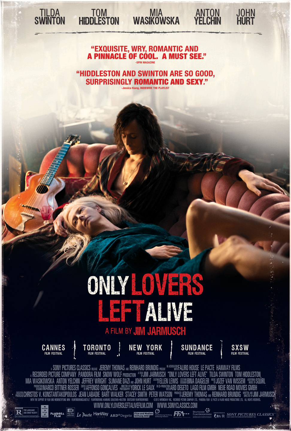 Only Lovers Left Alive (2013) Technical Specifications