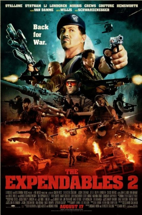 The Expendables 2 (2012) Technical Specifications