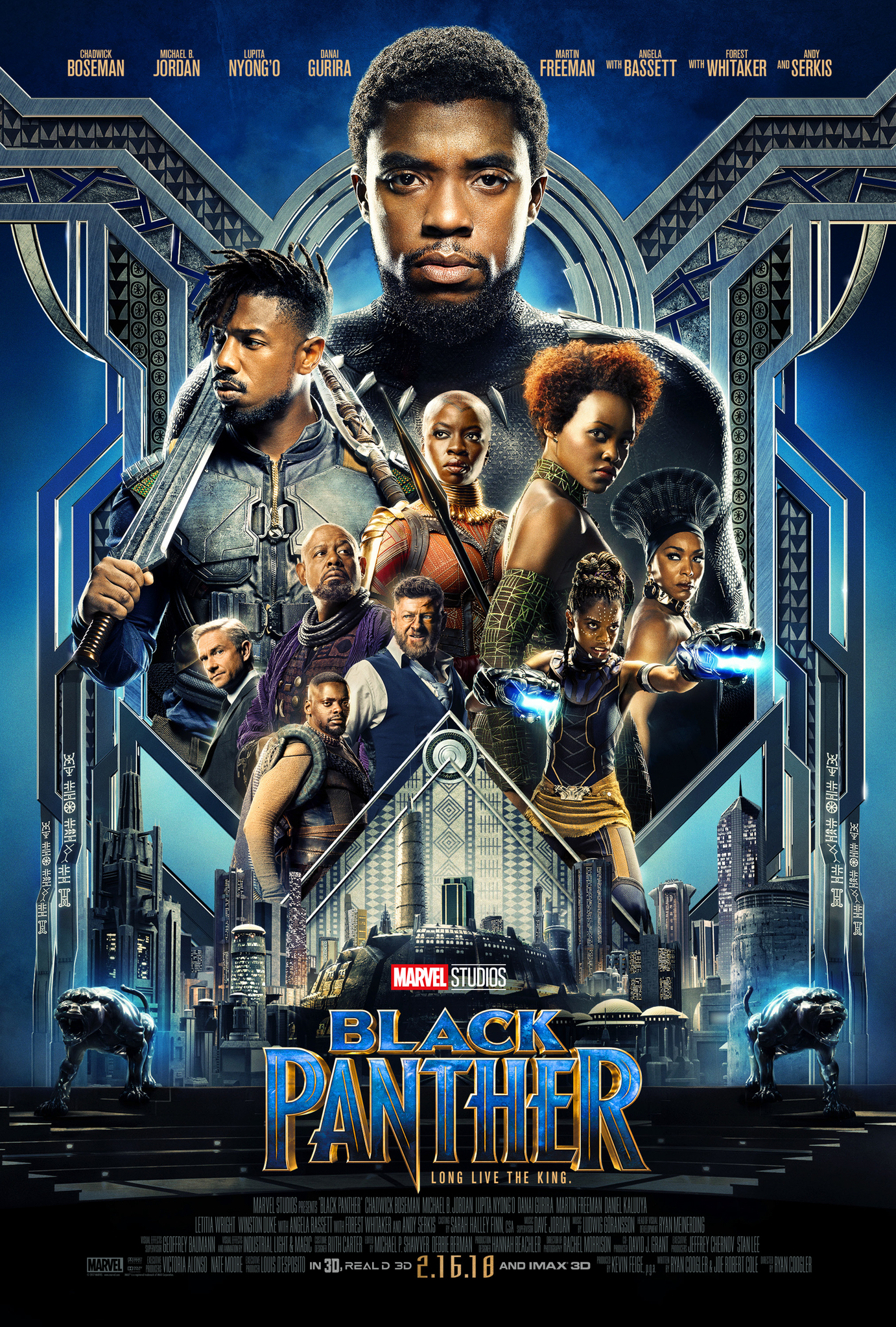 Black Panther (2018)  Technical Specifications