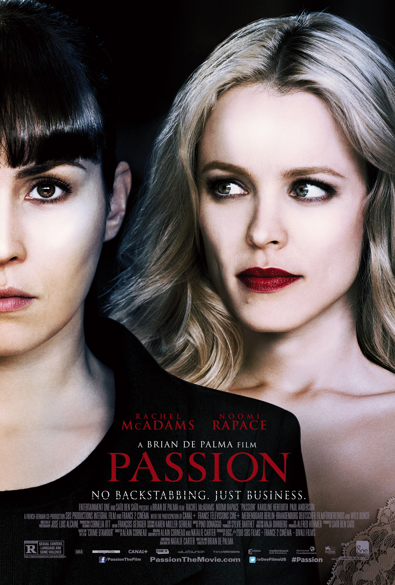 Passion (2012) Technical Specifications