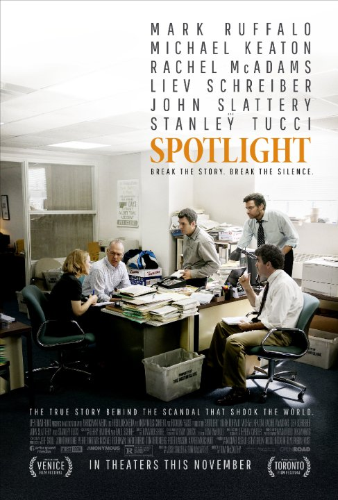 Spotlight (2015) Technical Specifications