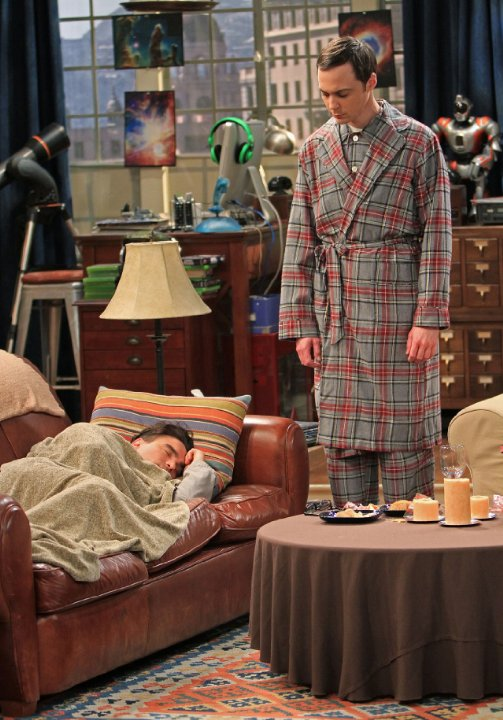 """The Big Bang Theory"" The Roommate Transmogrification Technical Specifications"