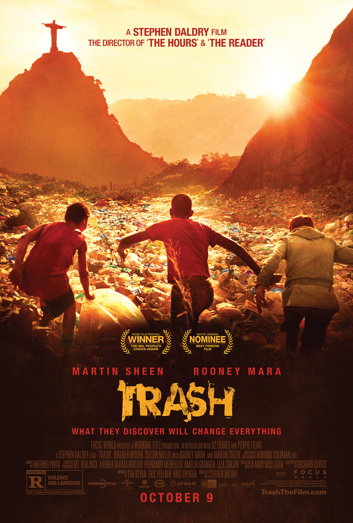 Trash (2014) Technical Specifications