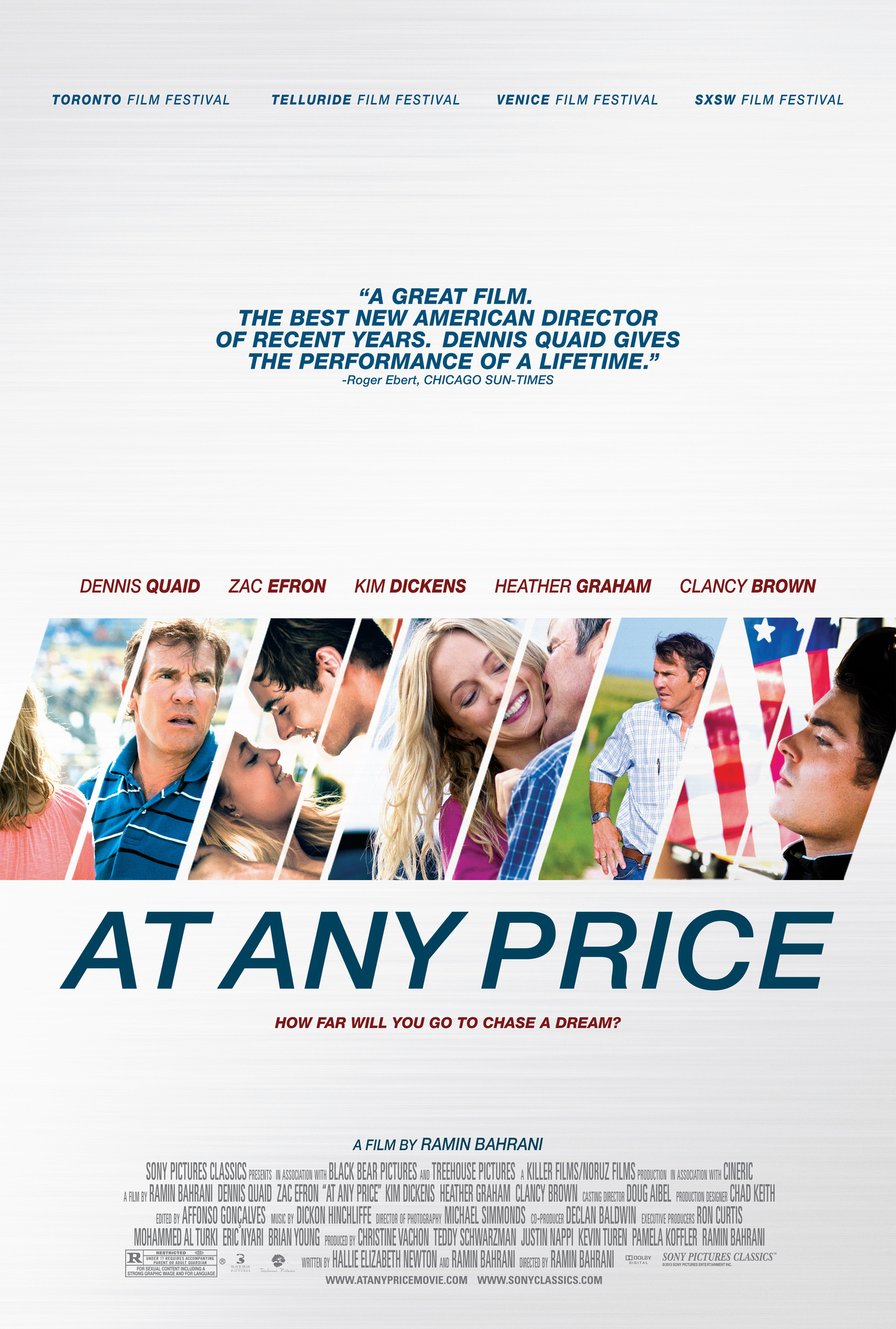 At Any Price (2012) Technical Specifications