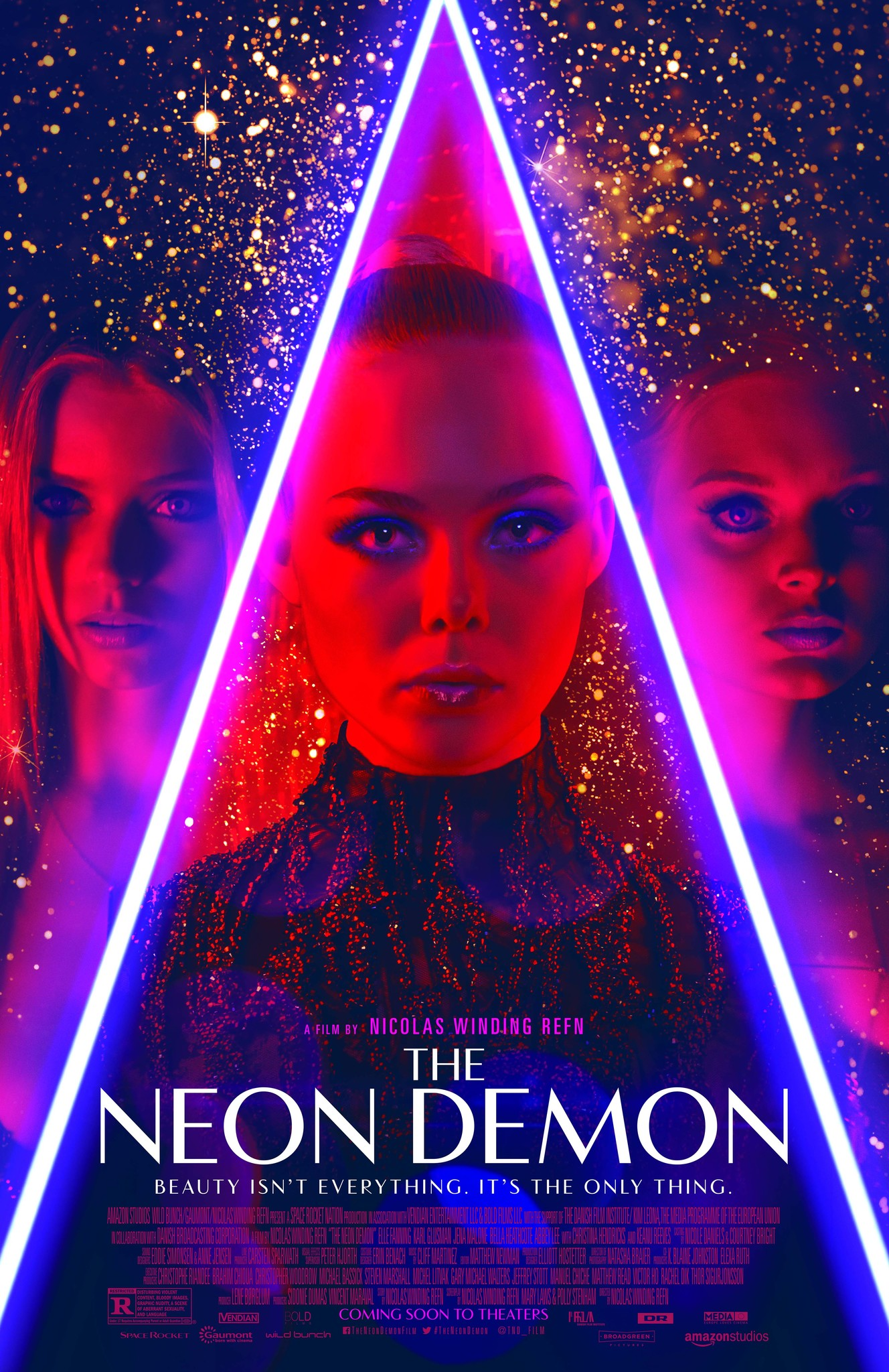 The Neon Demon (2016) Technical Specifications