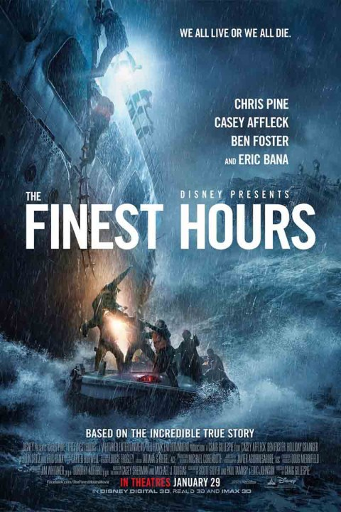 The Finest Hours (2016) Technical Specifications