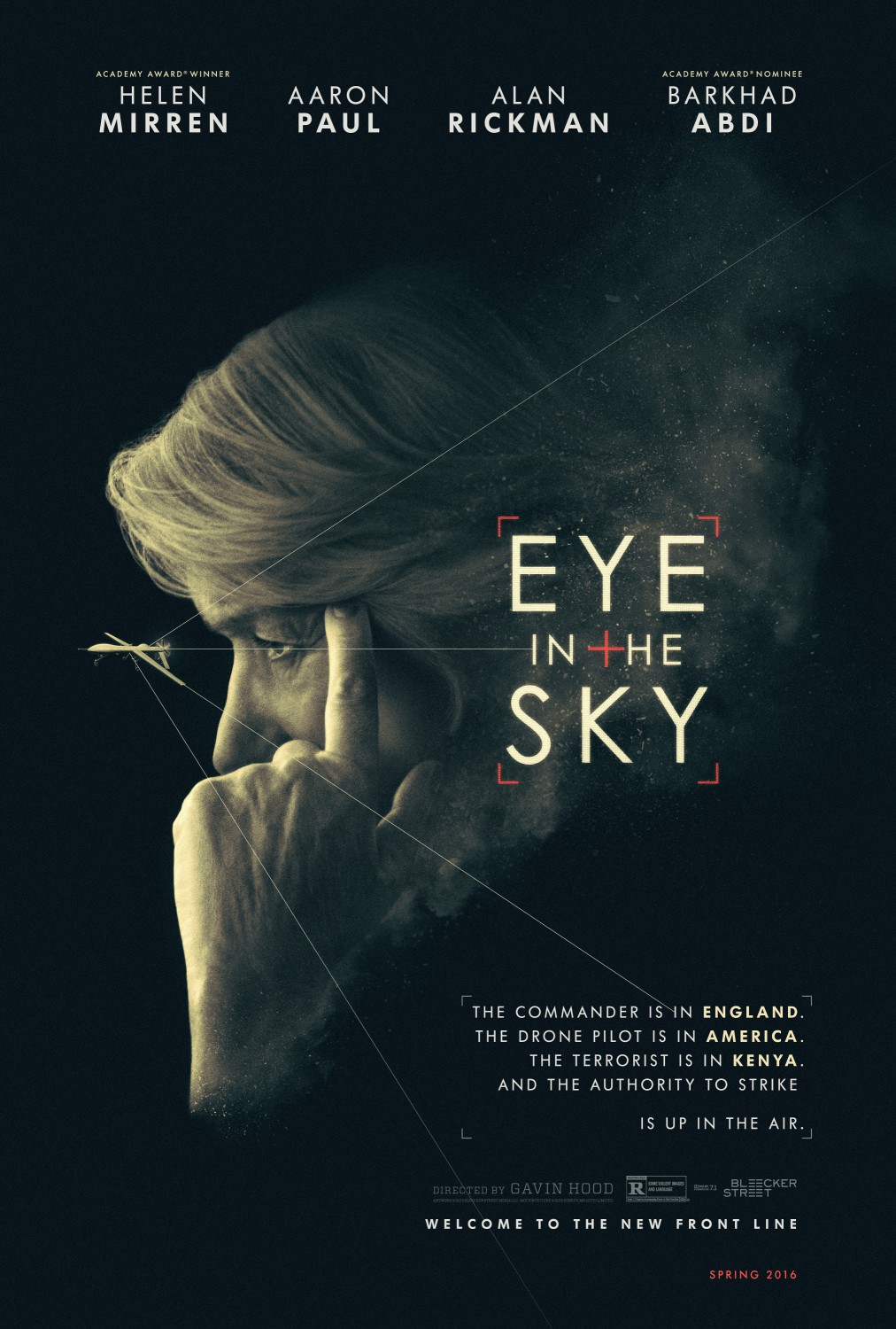 Eye in the Sky (2015) Technical Specifications
