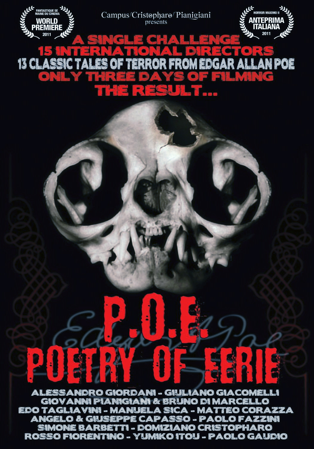 P.O.E. Poetry of Eerie (2011)  Technical Specifications