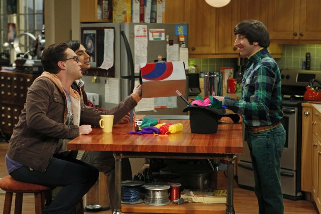 """The Big Bang Theory"" The Shiny Trinket Maneuver Technical Specifications"