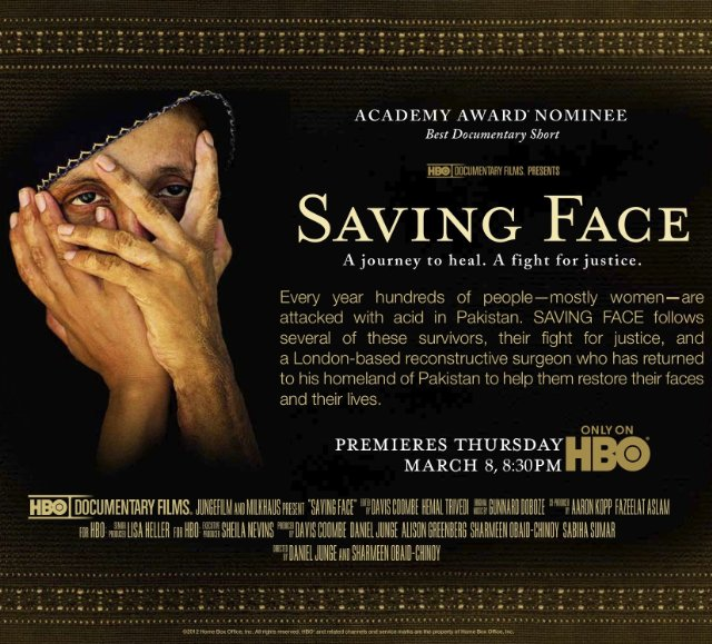 Saving Face Technical Specifications