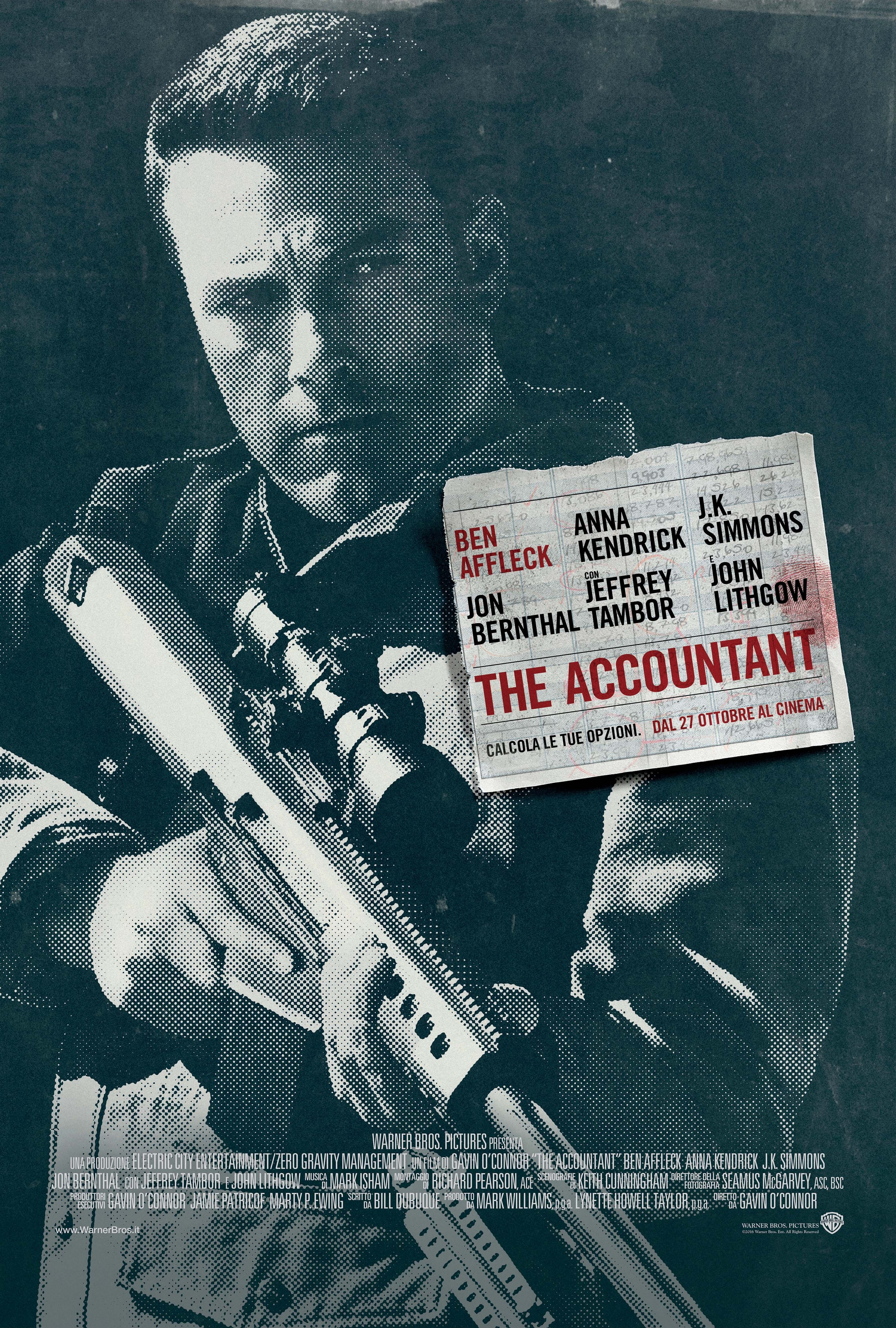 The Accountant (2016) Technical Specifications