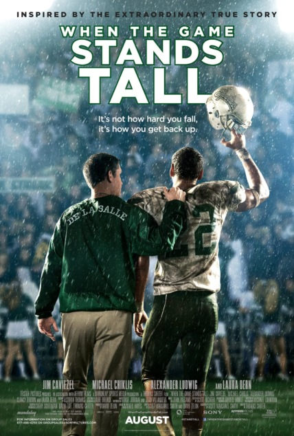 When the Game Stands Tall Technical Specifications