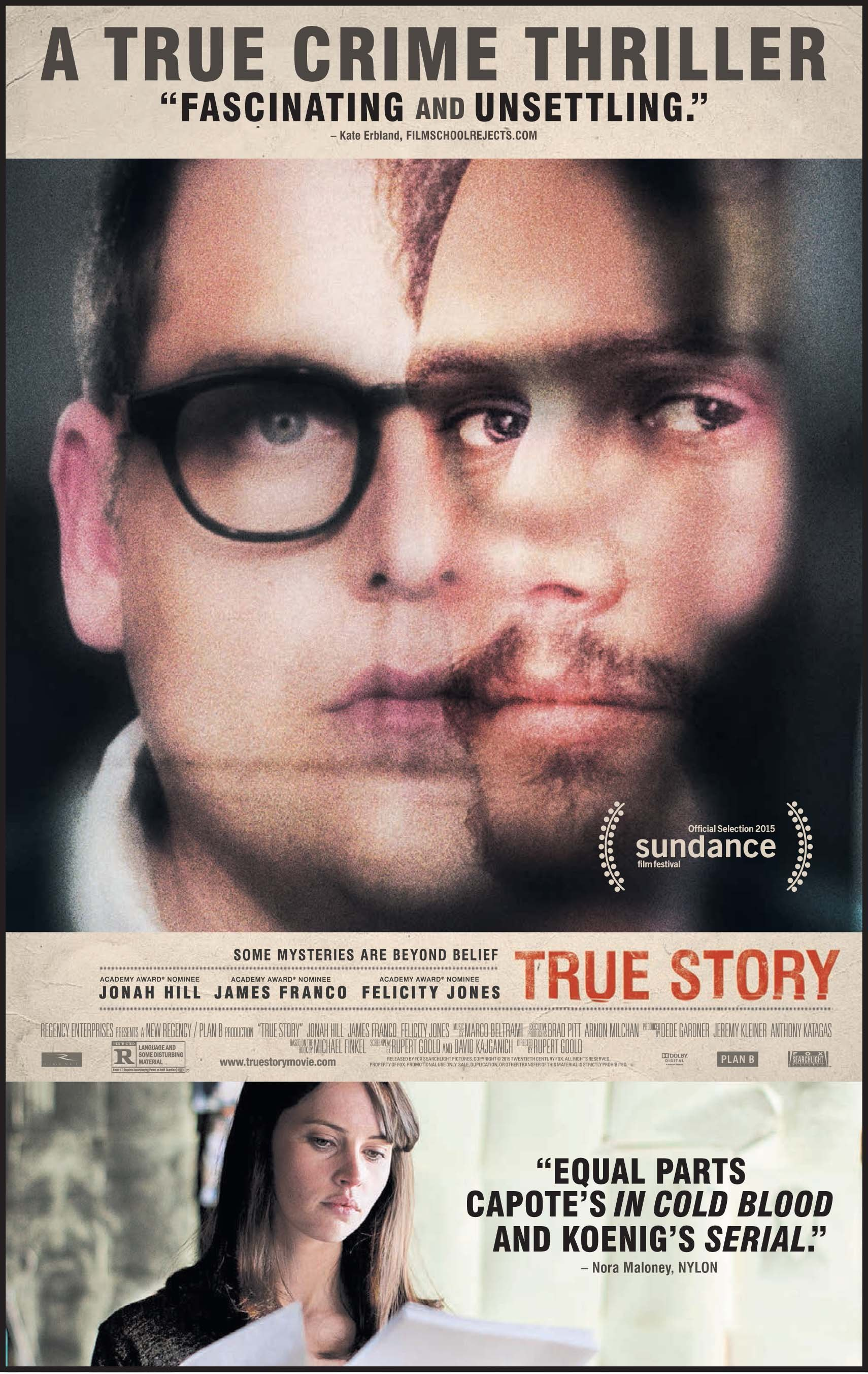 True Story (2015) Technical Specifications