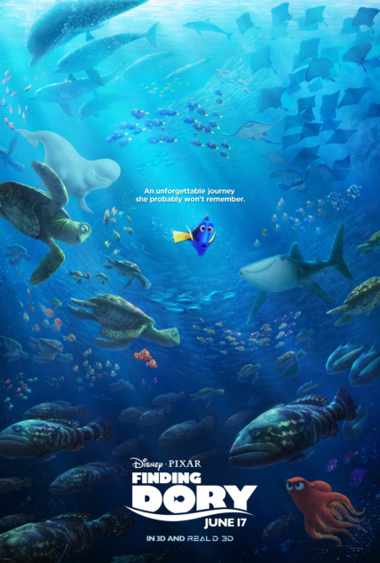Finding Dory Technical Specifications