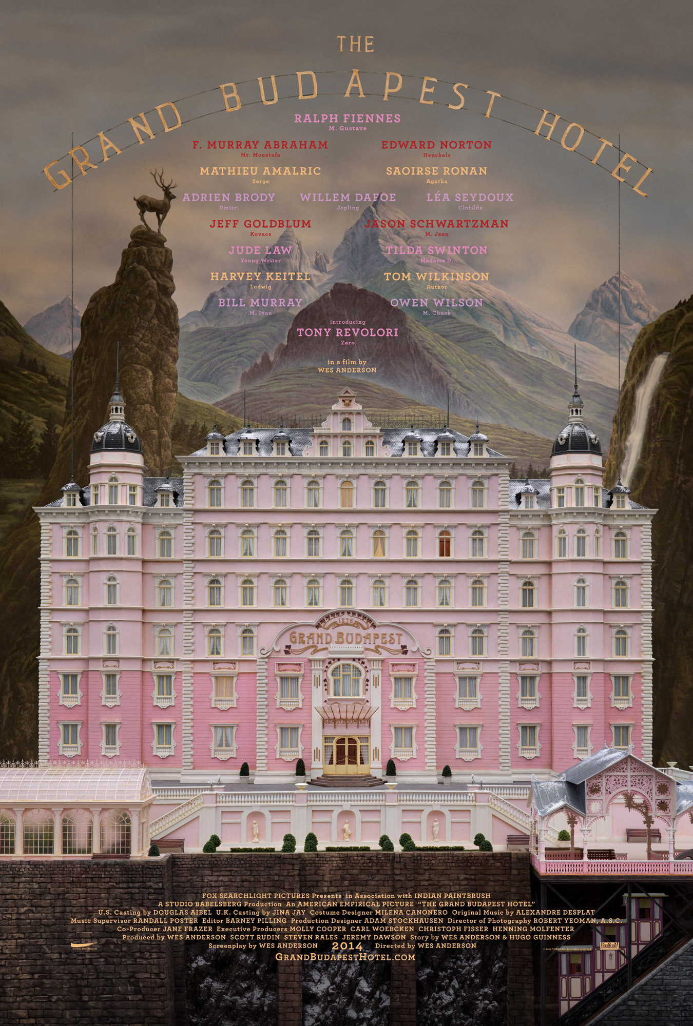The Grand Budapest Hotel | ShotOnWhat?