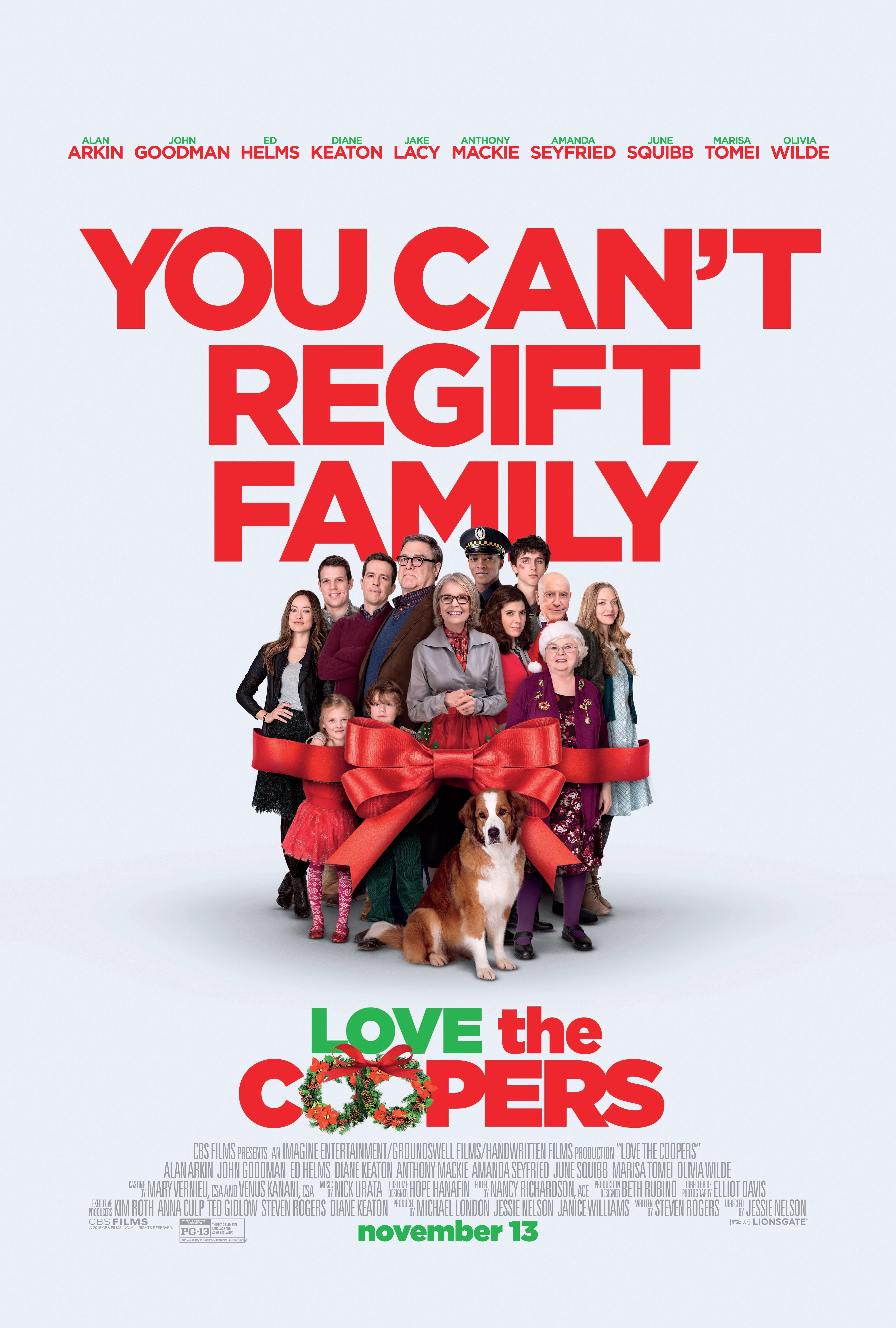 Love the Coopers (2015) Technical Specifications