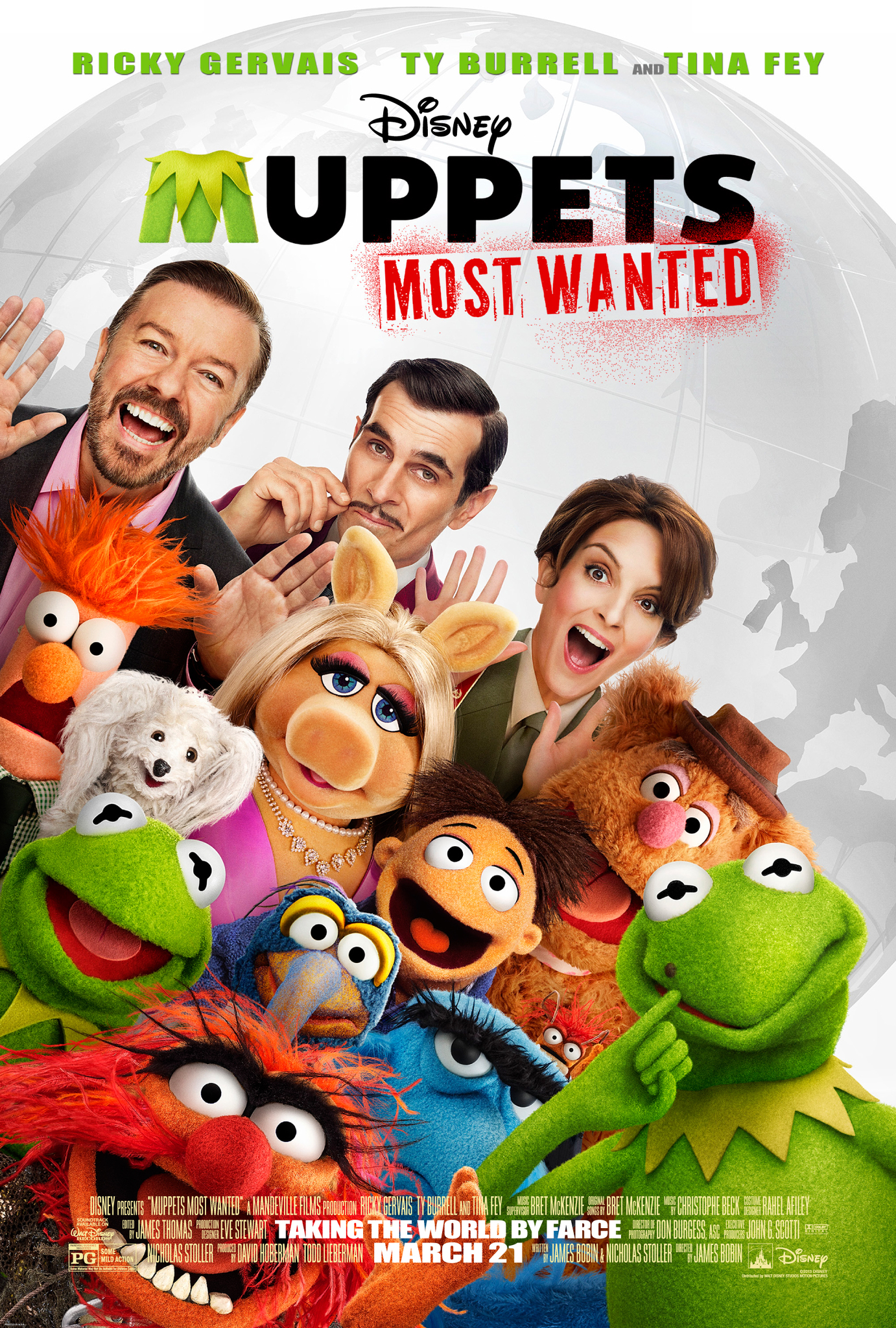 Muppets Most Wanted (2014) Technical Specifications