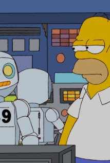 """The Simpsons"" Them, Robot"