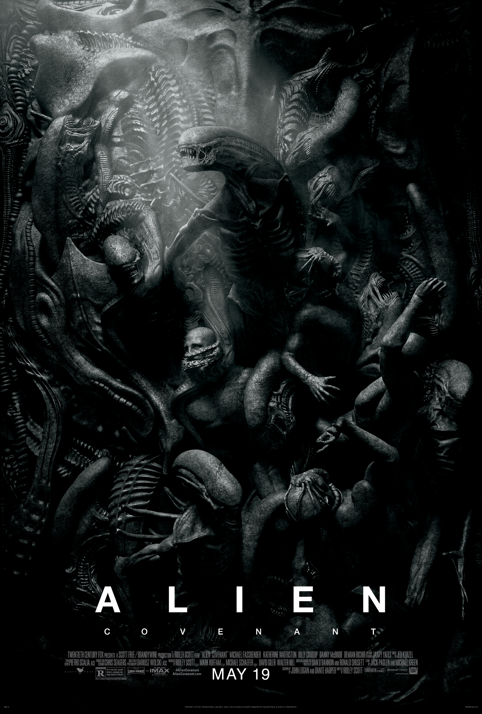 Alien: Covenant (2017) Technical Specifications