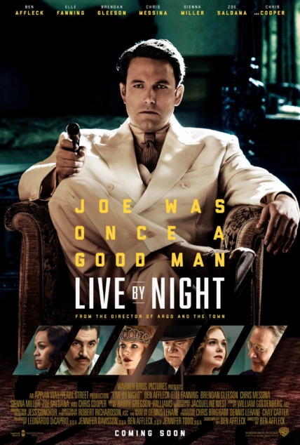 Live by Night Technical Specifications
