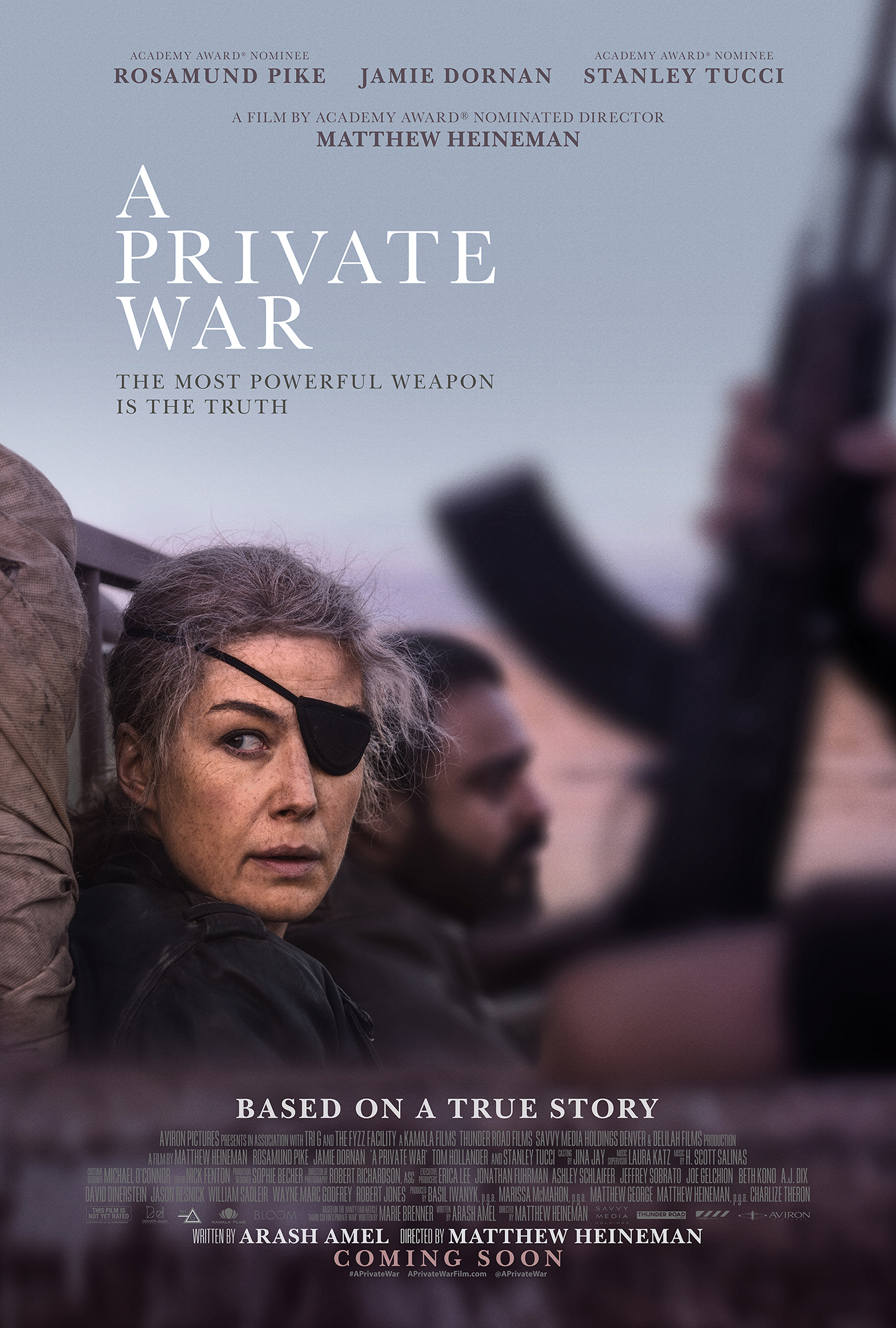 A Private War (2018)  Technical Specifications