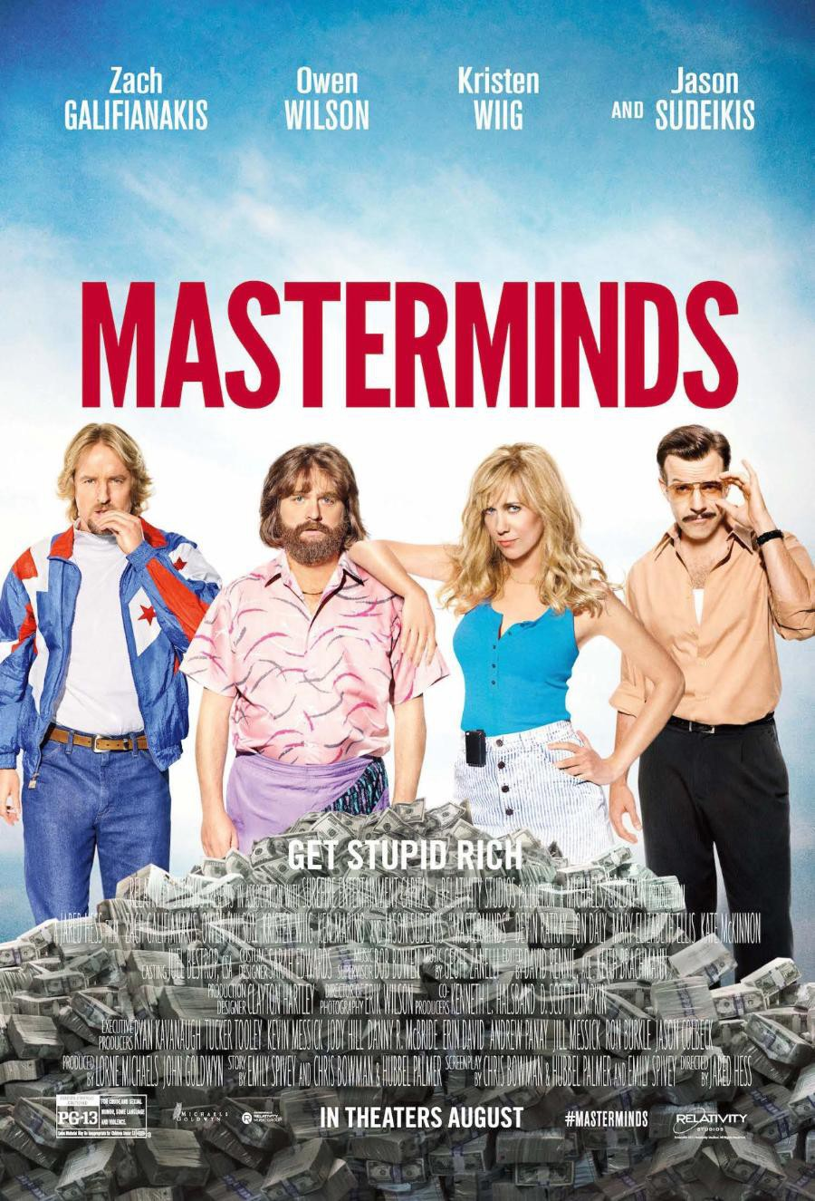 Masterminds (2016) Technical Specifications