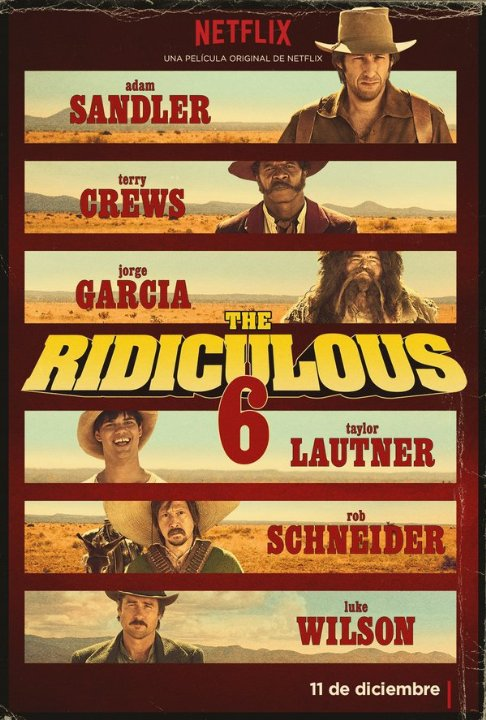 The Ridiculous 6 | ShotOnWhat?