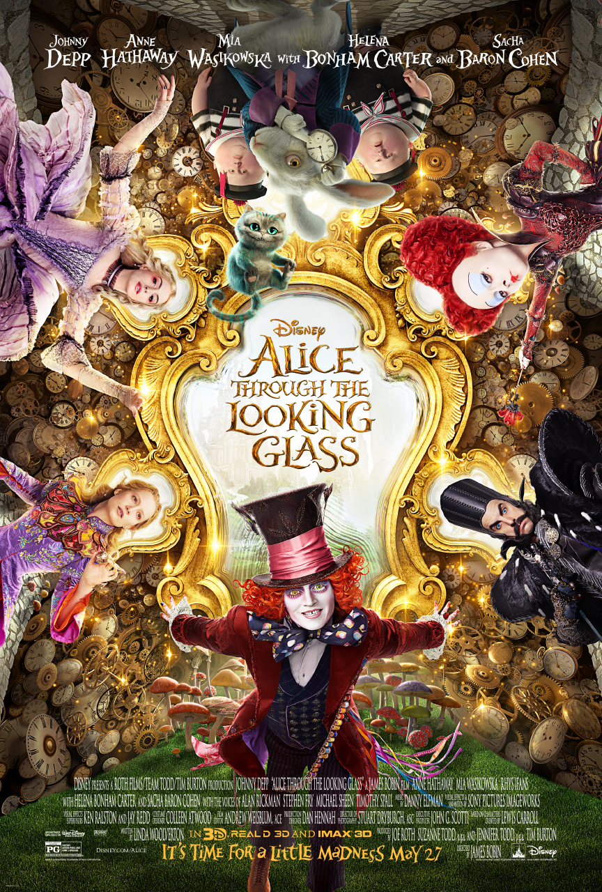 Alice Through the Looking Glass (2016) Technical Specifications