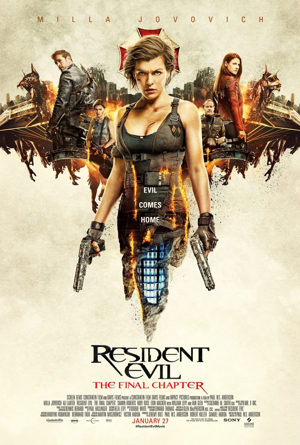 Resident Evil: The Final Chapter (2016) Technical Specifications