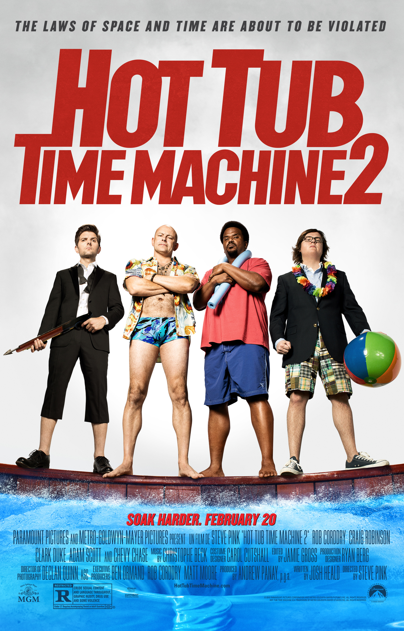 Hot Tub Time Machine 2 (2015) Technical Specifications