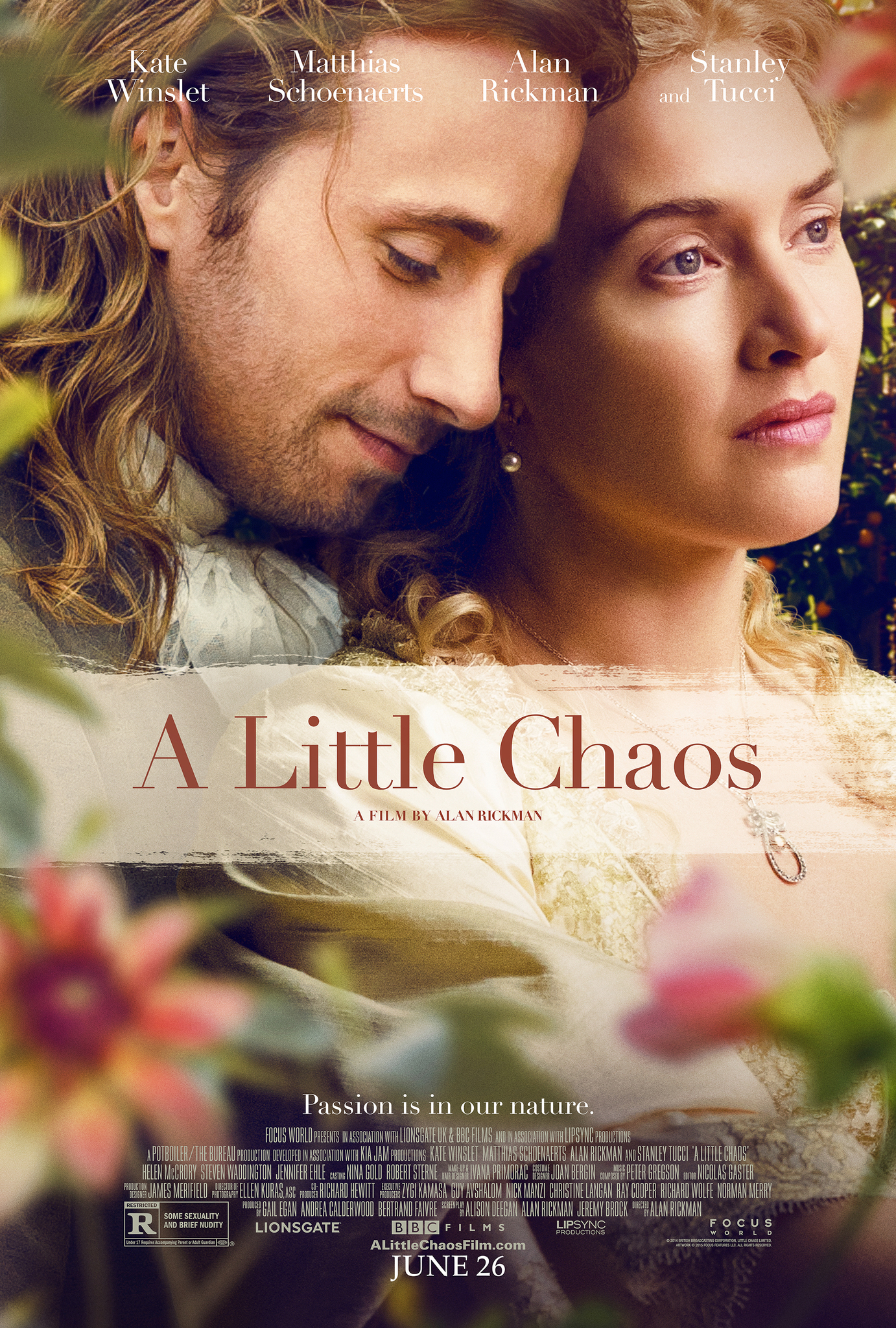 A Little Chaos (2014) Technical Specifications