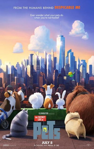 The Secret Life of Pets Technical Specifications
