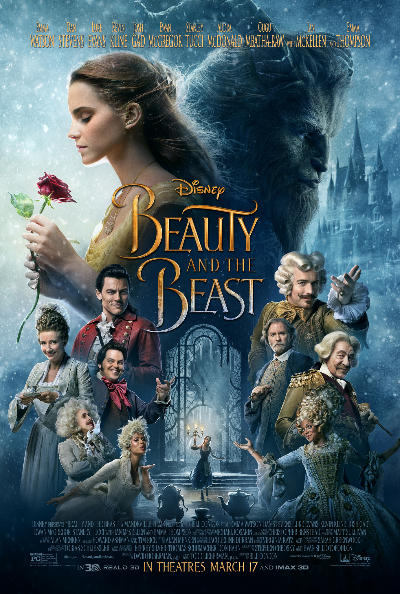 Beauty and the Beast (2017) Technical Specifications