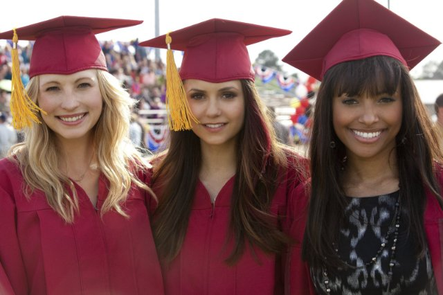 """The Vampire Diaries"" Graduation 