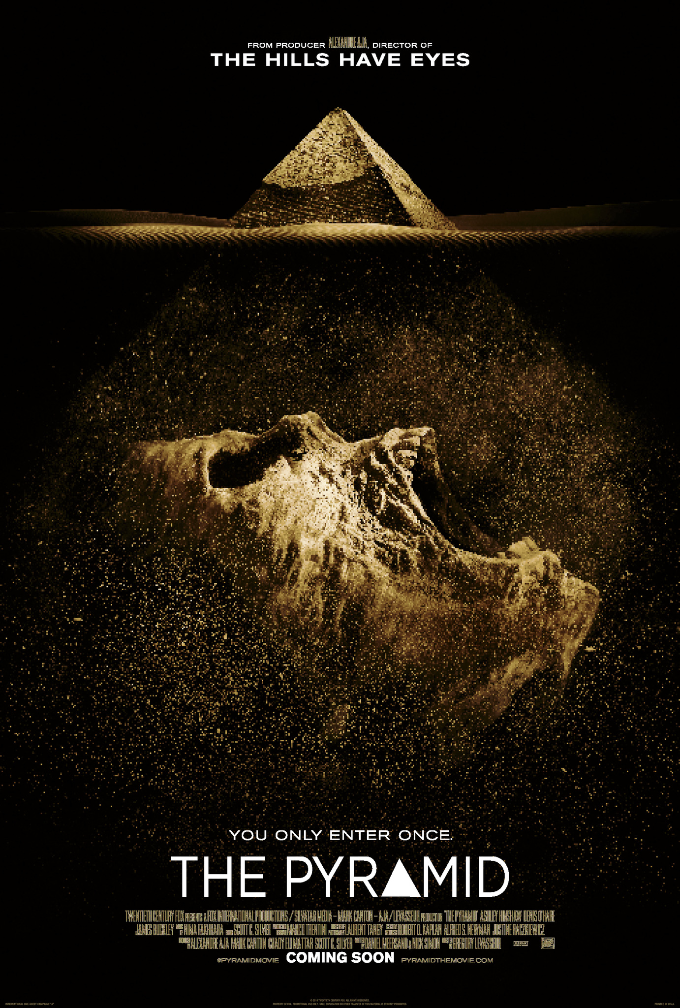 The Pyramid (2014) Technical Specifications